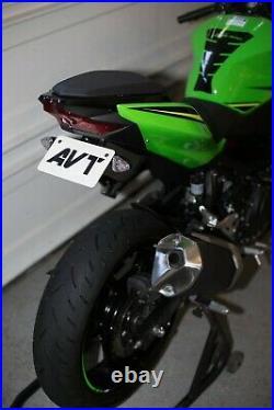 AVT Ninja 400 Fender Eliminator NI Kit 2018-2020 FLUSH LED Turn Signals