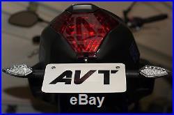 AVT Yamaha MT07 FZ07 Fender Eliminator NI Kit 2013-2019 LED Turn Signals
