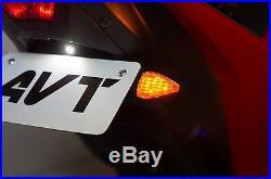 AVT Yamaha YZF-R3 Fender Eliminator NI Kit 2015-2018 R3 FLUSH LED Turn Signals