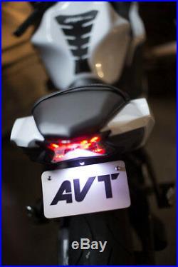 AVT z650/ Ninja 650 Fender Eliminator Kit 17-19 Integrated Tail Turn Signals