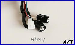 AVT z650/ Ninja 650 Fender Eliminator Kit 20-21 Integrated Tail Turn Signals