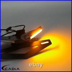 Amber LED Turn Signals Tail Tidy For Ducati V4 V4S V2 Fender Eliminator Kit 2020