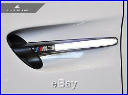 AutoTecknic BM-0266-W White LED Fender Turn Signal Lights Fits 08-13 BMW M3