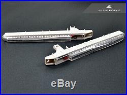 AutoTecknic White LED Fender Turn Signals For 08-13 BMW E90 M3 E92 / E93 M3