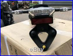 BMW R Nine T R9T LED Tail Light & Turn Signal + Plate Fender Mount & Wired Loom