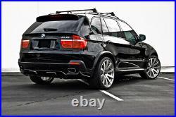 BMW X5 E70 20/21 Inch Euro Fender Flares Wheel Arch Extension Aero Diffuser