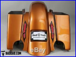 Bad Dad 2014+ Replacement Summit Fender with 992 Taillight & Turn Signals
