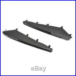 Carbon Fiber Side Fender Turn Signal Cover Fit For BMW E92 E93 M3 2008-2011