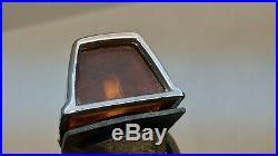 Chrome Plymouth Valiant Dodge Dart Fender Blinkers Turn Signals Indicators Mopar