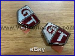 Emblems GT (Front Fender) Set to suit Nissan Skyline R34 GTR