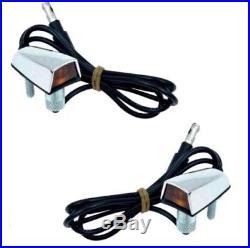 Fender Mounted Turn Signal Indicator Lamp Set for 1970-1972 MoPar A-Body