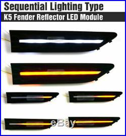 Fender Reflector 2Way Turn Signal LED Module Sequential for KIA 2011-2013 Optima