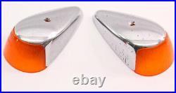 Fender Turn Signal Light Set 64-67 VW Bug Beetle Aircooled Genuine Hella