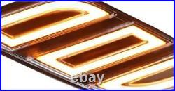 Fender Vent LED DRL Side Marker Light Turn Signal For Ford F150 Raptor 17-19 OA
