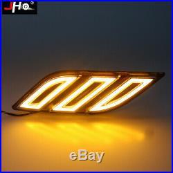 Fender Vent LED Daytime Running Light with Turn Signal For Ford F-150 Raptor 15-18