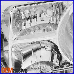 Fit 09-11 Pilot Chrome Clear Headlight Front Lamp Passenger/Right Replacement