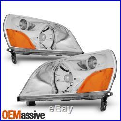 Fit 2003-2005 Honda Pilot Headlights Headlamps Replacement L+R 2004s