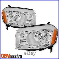 Fits 09 10 11 Honda Pilot Headlights Lamps Replacement Left + Right 2009-2011