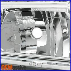 For 2012 2013 2014 2015 Honda Pilot Halogen Chrome Headlight Passenger Right