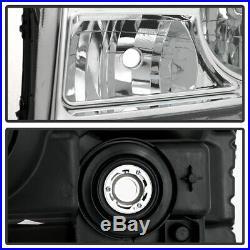 For 2012 2013 2014 2015 Honda Pilot Halogen Replacement Headlight Lamp LH RH Set