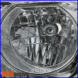 For 2012 2013 2014 2015 Honda Pilot Halogen Type Chrome Headlight Driver Left