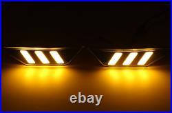 For Honda Civic 10th Btype Car Fender LED Side Light Turn Signal Light Night DRL