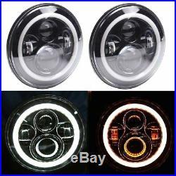 For Jeep JK 7 LED Headlights, Fog Lights, Turn Signal, Fender Lamp, Tail light