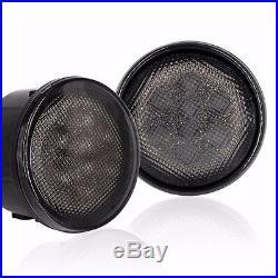 For Jeep Wrangler 7 Round LED Headlight 4 Fog Fender Turn Signal Light Combo