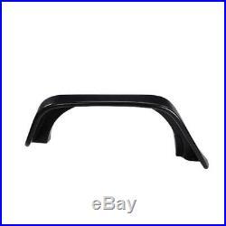 For Jeep Wrangler JK 4PCS/Set Fender Flares ABS Black with LED Turn Signal Light