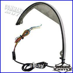 For Suzuki Boulevard M109R M90 Amber LED Rear Turn Signal Fender Eliminator Kit