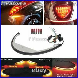For Suzuki Boulevard M109R M90 LED Rear Turn Signal Light Fender Eliminator Kit