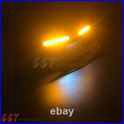 For Yamaha YZF R6 Tail Tidy Fender Eliminator LED Tail Light Turn Signals 2019