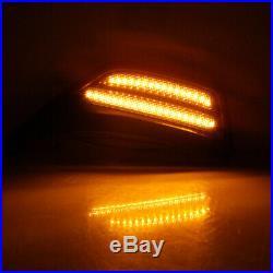 For wrangler JL 2018-2020 LED side Fender Turn Signal light smoke black 2pcs