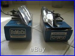 Ford Thunderbird Turn Signal Fender Indicator Lights L&R, 1964, USED OEM Boxed