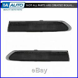 Front Fender Mounted Side Corner Marker Light LH RH Pair Set for 04-08 Acura TL