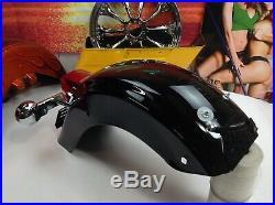 Genuine 09-19 Harley Touring Emblem Badge Rear Fender Lights Turn Signals OEM