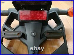 Genuine 2009 yamaha R1 licence plate holder with turn signals OEM
