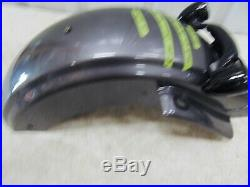 Genuine Harley Charcoal Pearl Rear Fender FLTR FLHX With LED Turn Signal & License