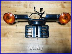 Genuine Harley OEM 09-20 Touring Rear Fender Turn Signal Light Bar Bracket
