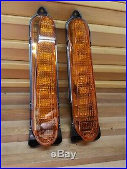 Harley CVO LED AMBER Turn Signals Rear Right left Fender Fascia Touring
