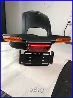 Harley Davidson FXDR Rear Turn Signal Fender Extension Brake Light License Plate
