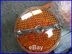 Harley Davidson OEM LED Flat Front Turn Signal Kit Multi Fit 68411-10