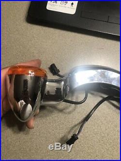 Harley Davidson Rear Fender Turn Signal Lamp Assembly Touring Models Amber Lens