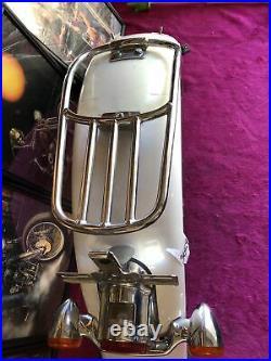Harley Softail Deluxe Rear Fender Brake Light Turn Signal Bar Rack