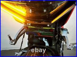 Honda CBR 600RR Extreme LED Fender Eliminator Amber Turn Signals Smoked Lens