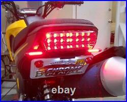 Honda Grom MSX125 SS Fender Eliminator Kit with Amber LED Turn Signals & FR- Smoke