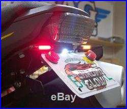 Honda Grom MSX125 STD Fender Eliminator Kit with Amber LED Turn Signals Smoke