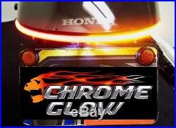 Honda VT750 Spirit/Phantom Fender Eliminator LED Brake & Turn Signal Kit Smoke