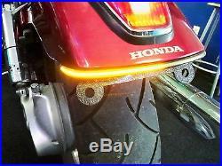 Honda VTX 1300C/1800C LED Fender Eliminator Brake/Turn Signal Kit with Smoked Lens