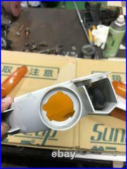 JDM NISSAN S14 SILVIA ZENKI OEM BUMPER FENDER TURN SIGNAL LIGHT SET (processing)